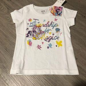 Uniqlo x My Little Pony T-shirt. Size 3. NWT